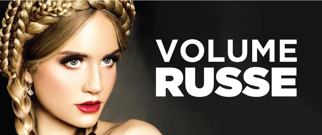 Cils volume russe