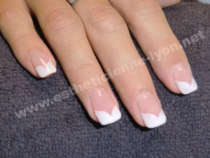 photo deco ongles gel french
