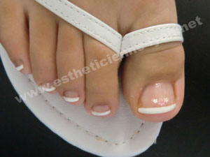 Photos images ongles estheticienne lyon - Ongle en gel pied ...